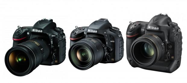Nikon D810 vs D610 vs D4S