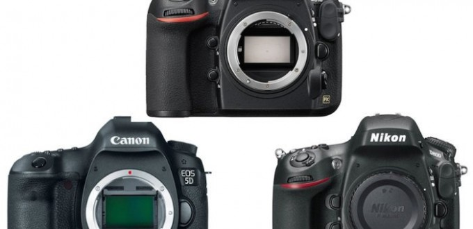 Nikon D810 vs D800 / D800E vs Canon EOS 5D Mark III