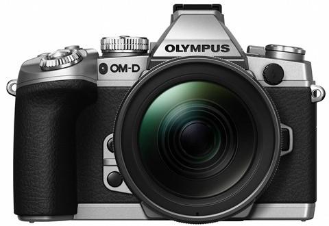 Olympus-Silver-E-M1-camera