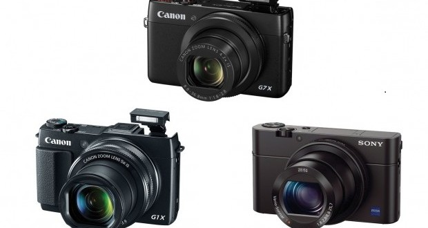 Canon G7 X vs G1 X Mark II vs Sony RX100 III