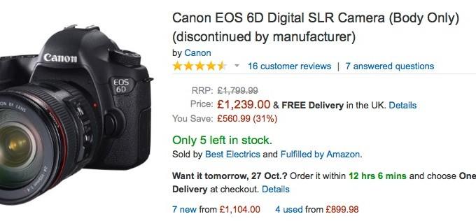 Canon EOS 6D | Camera Times