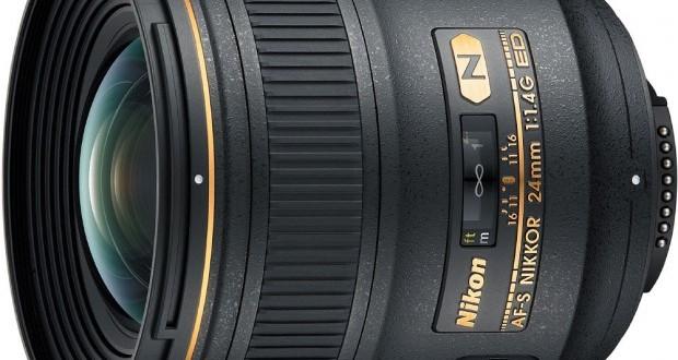 AF-S NIKKOR 24mm f/1.4G ED Lens