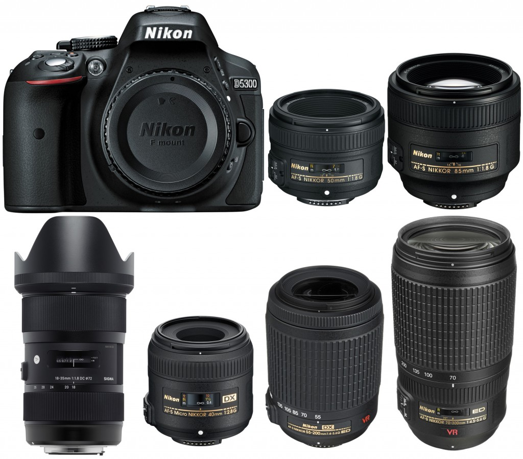 best lenses nikon d