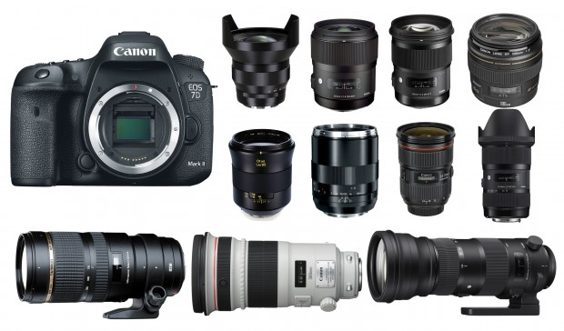 Best Lenses For Canon Eos 7d Mark Ii Camera Times