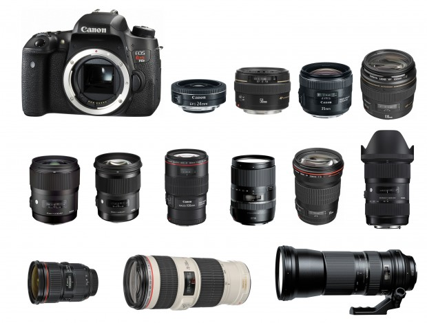 Best Lenses for Canon EOS Rebel T6s / T6i / 760D / 750D | Camera Times