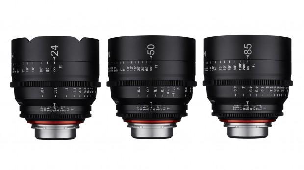 Samyang Announces 3 Xeen Cinema Lenses 24mm 50mm 85mm T1 5
