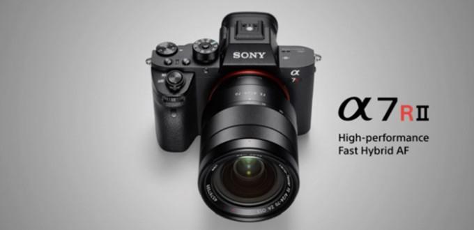 Sony-a7rII-camera
