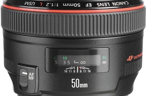 Canon-EF-50mm f1.2L-USM-Lens