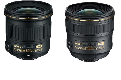Nikon-24mm-f1.8G-ED-vs-24mm-f1.4G-ED-Specs-Comparison