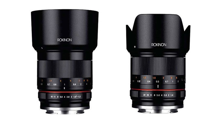 Rokinon Announces 50mm f/1.2 and 21mm f/1.4 Lenses for Mirrorless Cameras