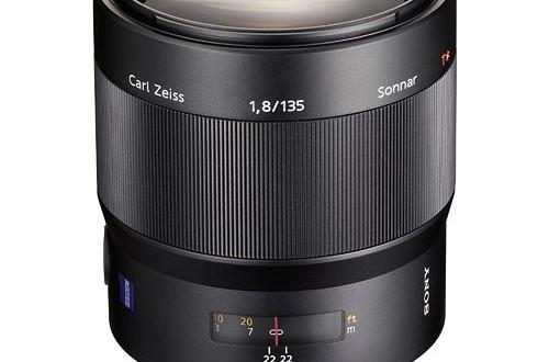 Sony-135mm-f1.8-Carl Zeiss-Lens