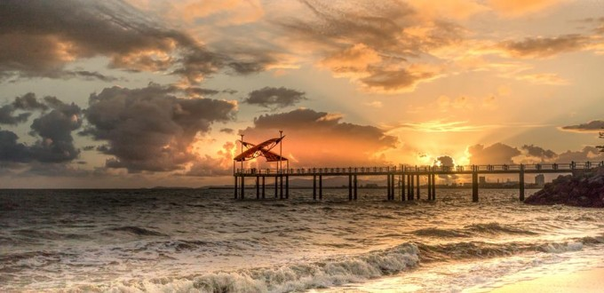 Stephen Worner,Sunrise in Townsville Australia, Canon 7D Mark 2