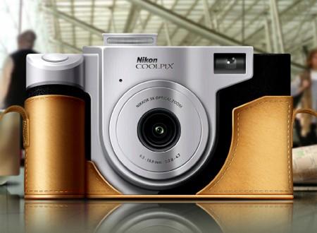 Concept Nikon Coolpix camera designed by Nikolay Komaro
