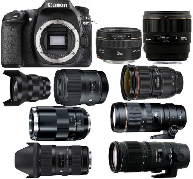 Best Lenses for Canon EOS 80D