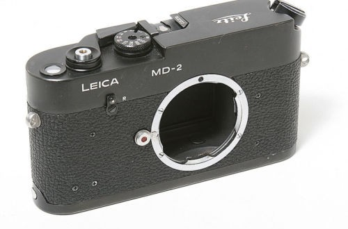 Old Leica MD-2 camera found on eBay