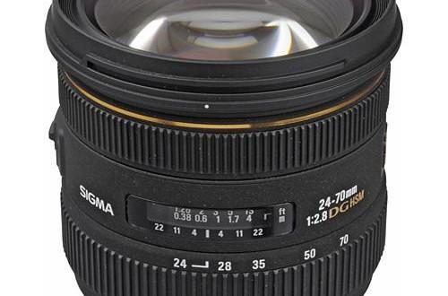 Sigma 24-70mm f/2.8 IF EX DG HSM Autofocus Lens