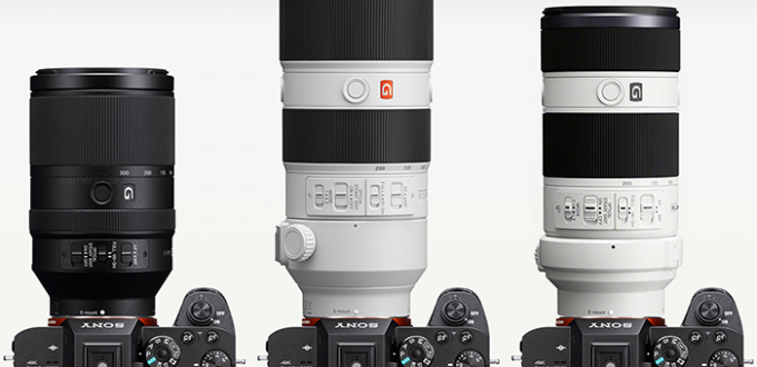 Sony-FE-70-300mm-vs-70-200mm-size-comparison