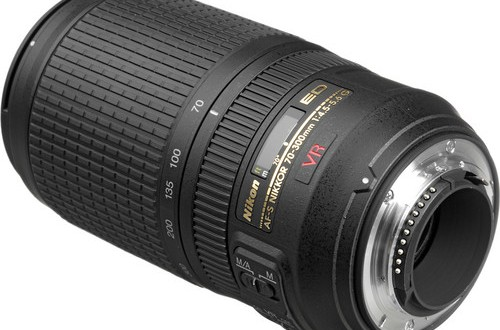 Current Nikon AF-S NIKKOR 70-300mm f/4.5-5.6G IF-ED VR Lens