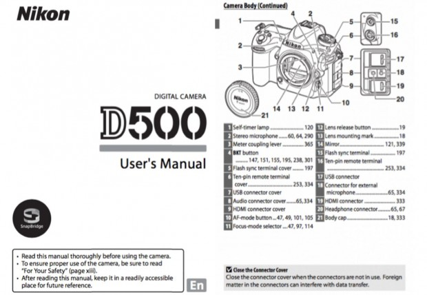 nikon d500 user s manual available for download now camera times rh cameratimes org nikon d500 manual free nikon d500 manual free