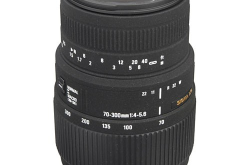 Current Sigma 70-300mm f/4-5.6 DG Autofocus Lens