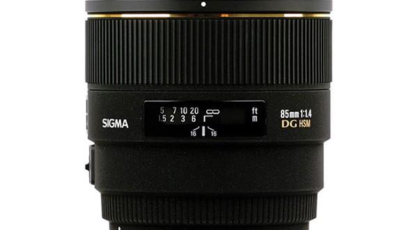 Sigma-85mm-f1.4-EX-DG-HSM-Lens