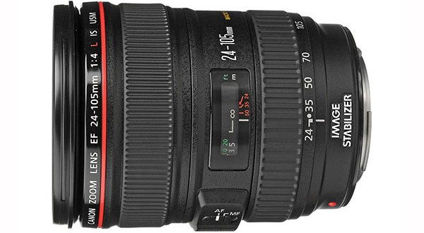 The Current Canon EF 24-105mm f/4L IS USM Lens