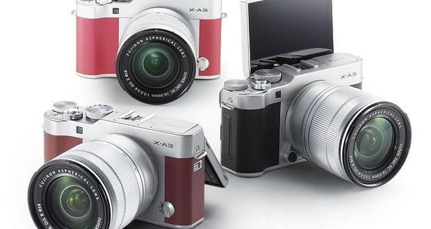 Fujifilm-X-A3-camera