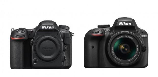 Nikon-d500-and-d3400