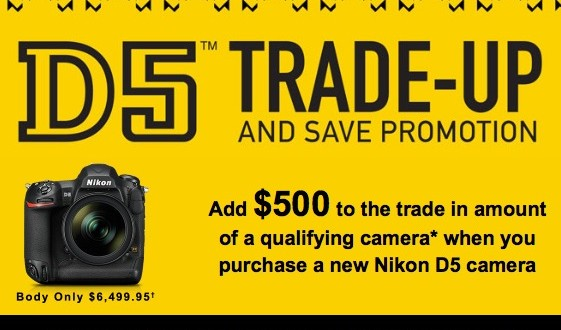 Nikon-D5-trade-up-and-save-promotion