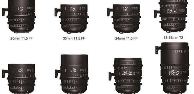 Sigma-Cine-Lenses