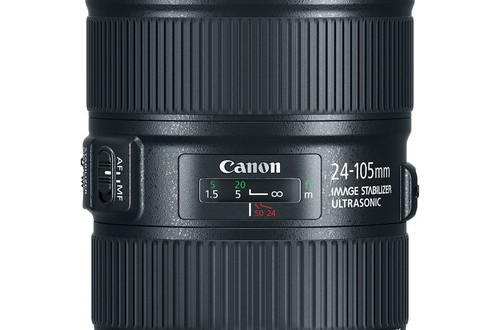 The New Canon EF 24-105mm f/4L IS II USM Lens