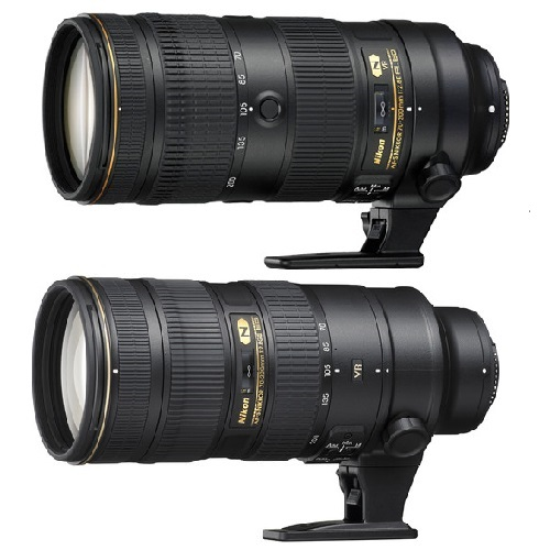 Nikon 70-200mm f/2 8E FL ED VR vs 70-200mm f/2 8G ED VR II
