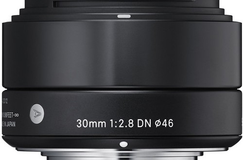 The Current Sigma 30mm f/2.8 DN Lens for Micro Four Thirds Cameras