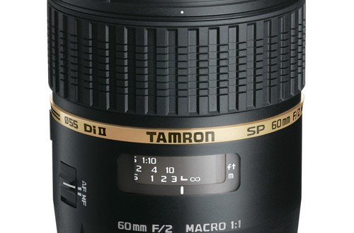The Current Tamron SP 60mm f/2 Di II 1:1 Macro Lens for Sony A