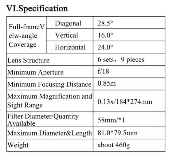 Yongnuo YN 85mm f/1 8 Lens (for Nikon) Leaked Images and Specs