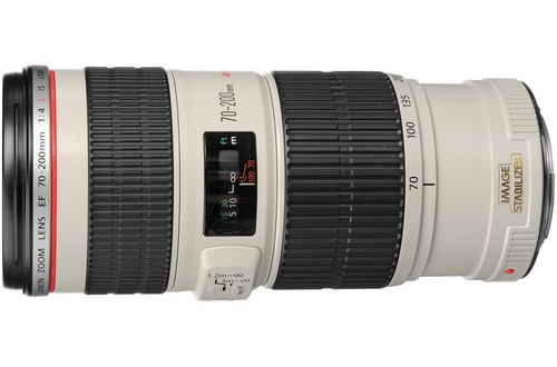 The Current Canon EF 70-200mm f/4L IS USM Lens