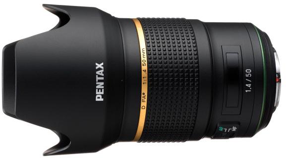 Pentax-D-FA-50mm-f1.4-lens