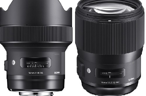 Sigma-14mm-f1.8-135mm-f1.8-Art-Lenses
