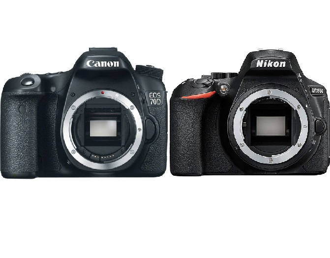Canon EOS 77D vs Nikon D5600 Specs Comparison | Camera Times