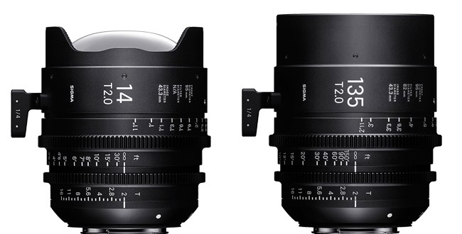 Sigma-14mm-T2-and-135mm-T2-Cine-Prime-Lenses