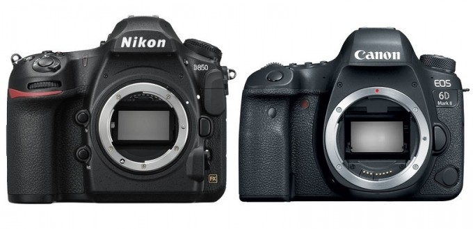 Nikon-D850-vs-Canon-EOS-6D-Mark-II