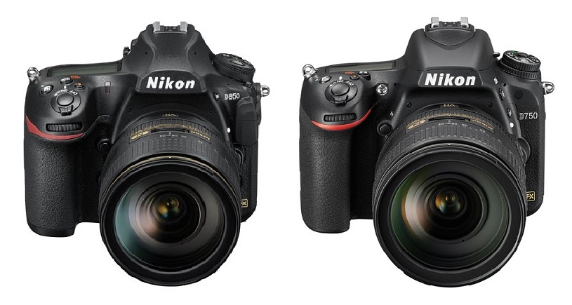 Nikon D850 vs Nikon D750 Specifications Comparison