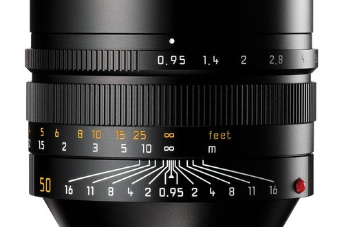 The Current Leica Noctilux-M 50mm f/0.95 ASPH. Lens
