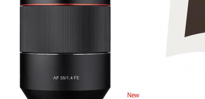 Samyang-AF-35mm-f1.4-FE-Lens