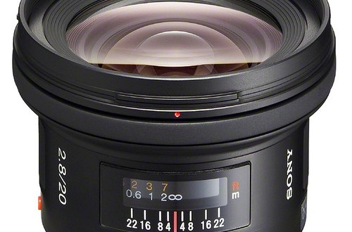 The Current Sony 20mm f/2.8 A-mount Lens