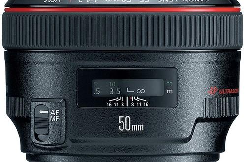 Canon-EF-50mm-f1.2L-USM-Lens