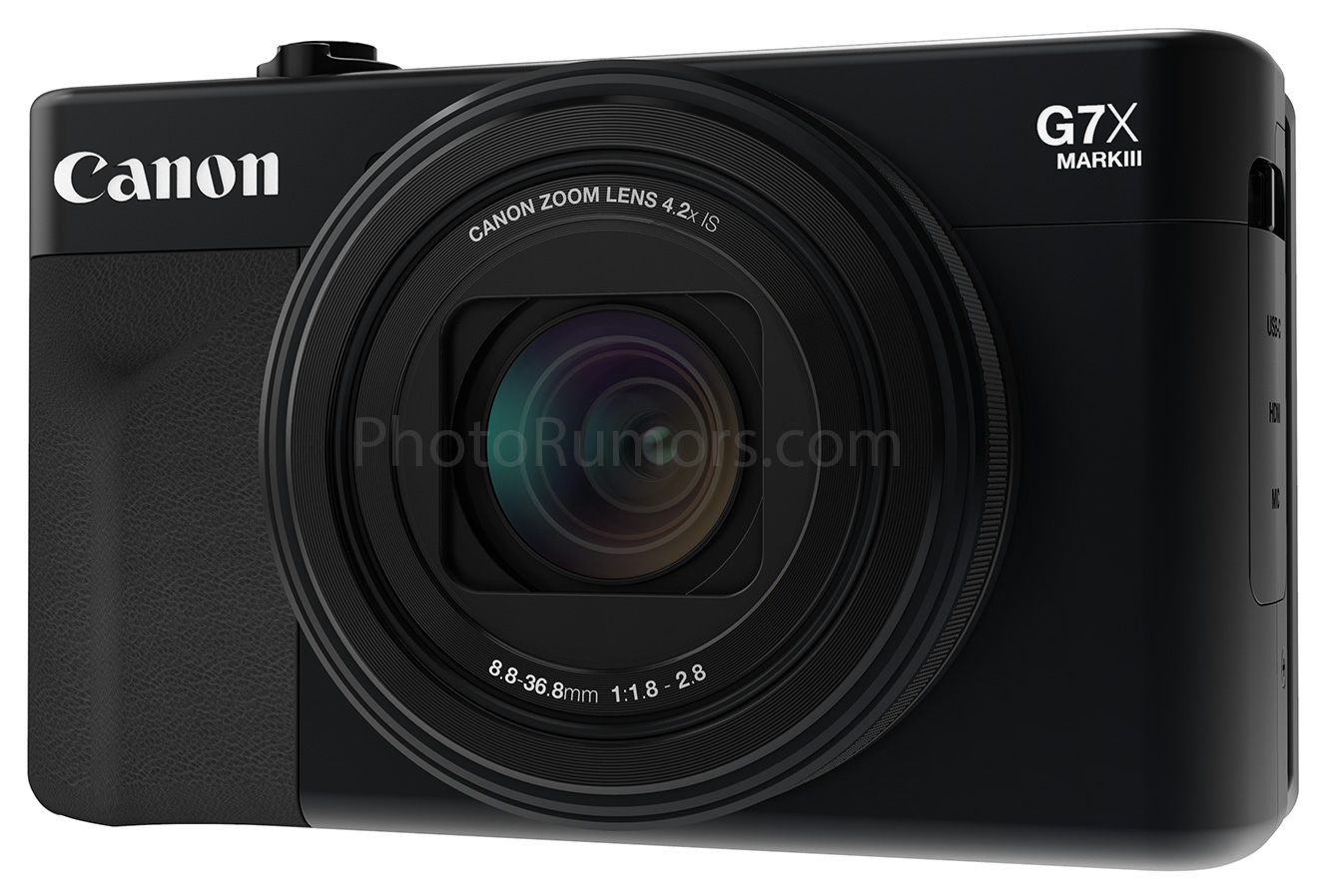 leaked canon powershot g7 x mark iii images and specs. Black Bedroom Furniture Sets. Home Design Ideas