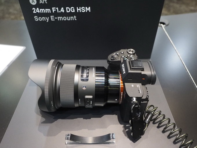 New Sigma Art E Mount Lenses Mounted On Sony Cameras At