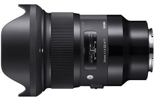 Sigma 24mm f/1.4 DG HSM Art Lens for Sony E Mount