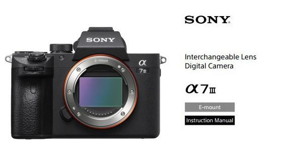 Sony-a7-III-Instruction-Manual
